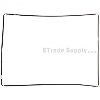 Apple iPad 4 Digitizer Frame with Aftermarket Adhesive
