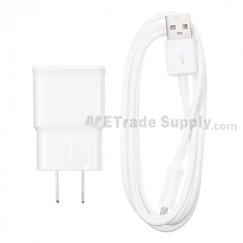 Samsung Galaxy S4 GT-I9500 Adapter and USB Data Cable