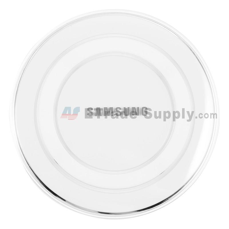 Samsung Galaxy S6 Series Round Wireless Charging Pad White