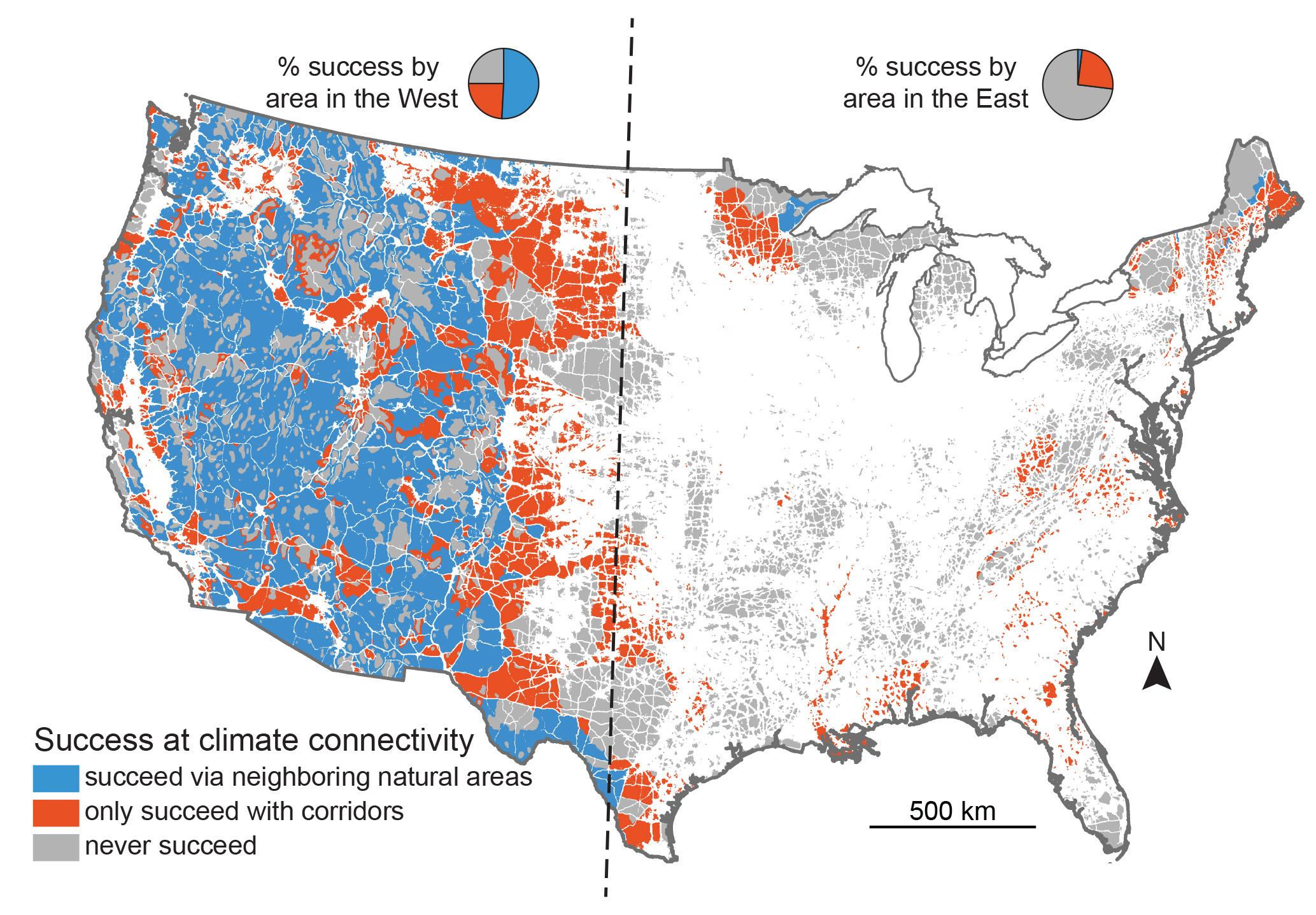 Eastern U S Needs Connectivity To Help Species Escape