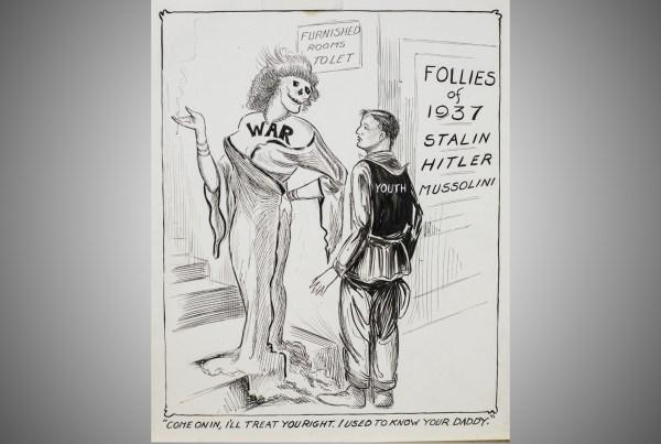 World War I Political Cartoons