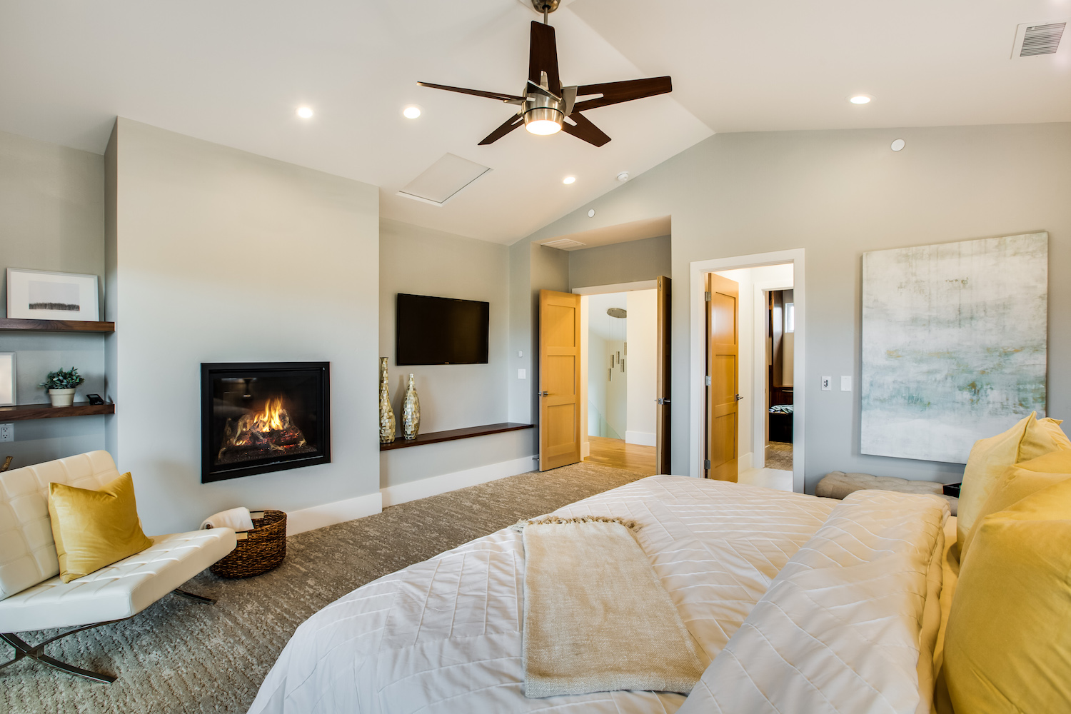 Modern Design Style  Home Staging Design by White Orchid Interiors