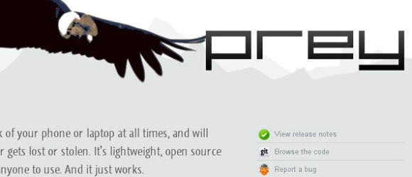Prey - Open Source Security for your Phone & Laptop