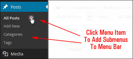 How To Use The WP Control Panel