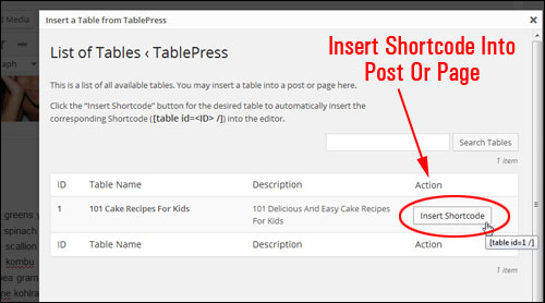 How To Create And Insert Tables Into Your Content Easily