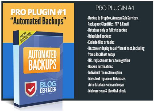 Blog Defender Security Product Suite For WordPress Websites & Blogs