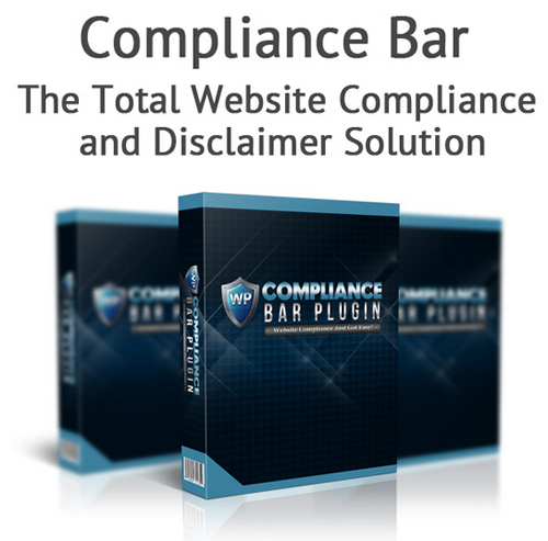 Compliance Bar Plugin - Website Compliance Plugin For WordPress