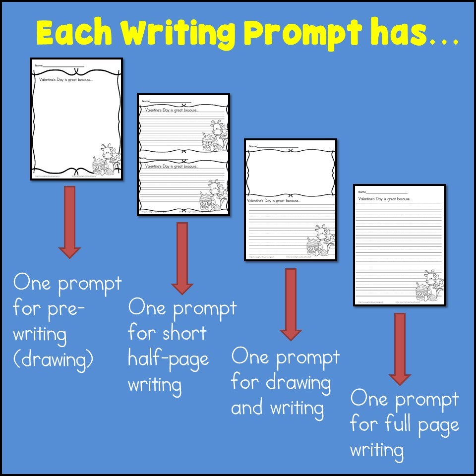 medium resolution of Verteran's Day Writing Prompts for Kindergarten- 2nd Grade