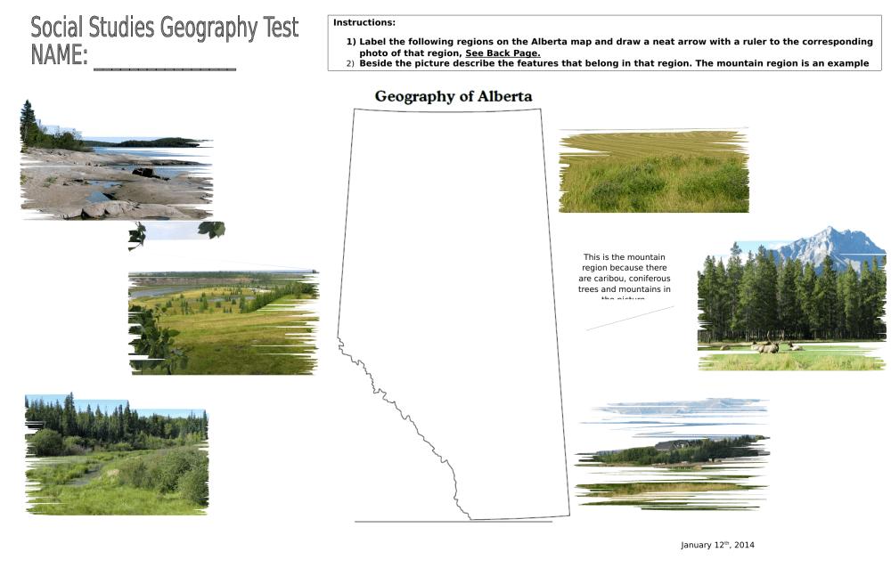 medium resolution of Alberta Geography Final Assessment Part 1 by cailapischke · Ninja Plans