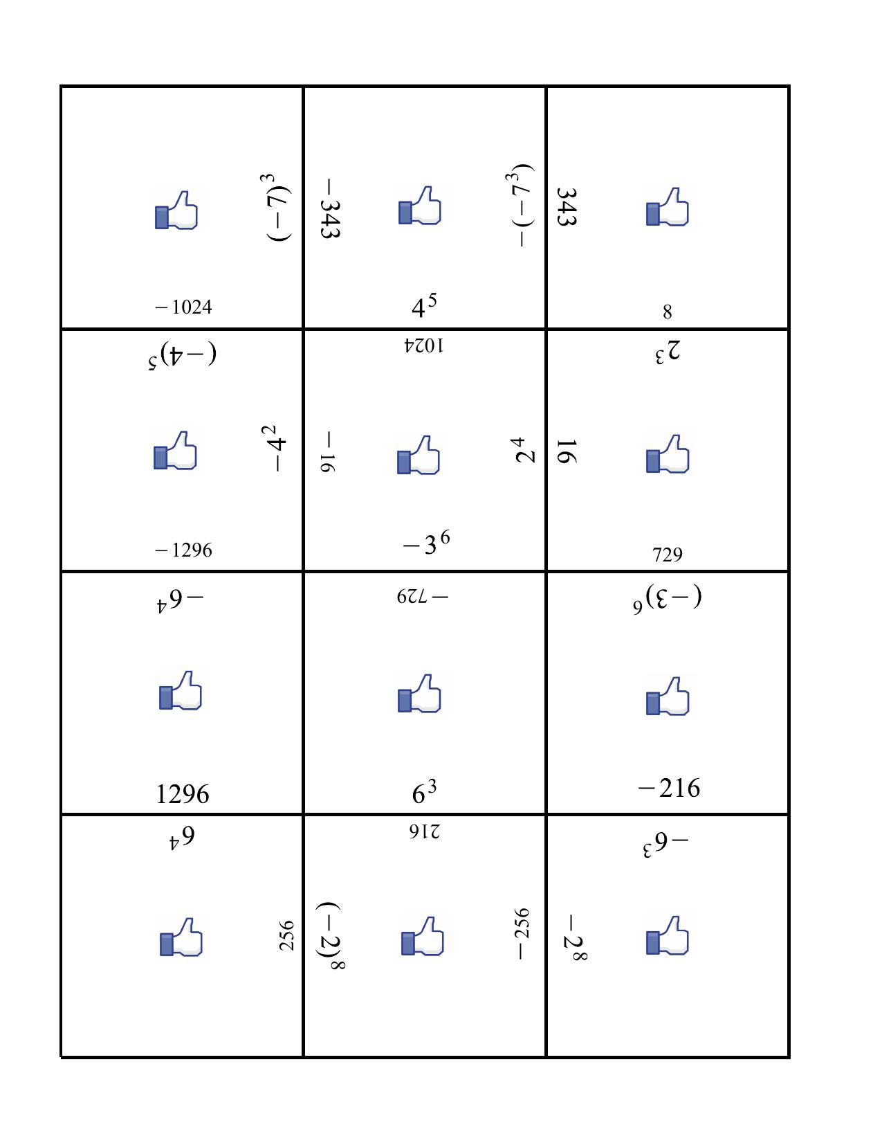 Math 7 Algebra Tiles Worksheet By Vnickel Ninja Plans