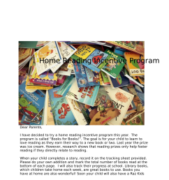books for books home reading incentive program [ 1275 x 1651 Pixel ]