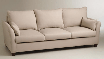 luxe 2 seat sofa slipcover legs san go stone 3 frame and online interior design