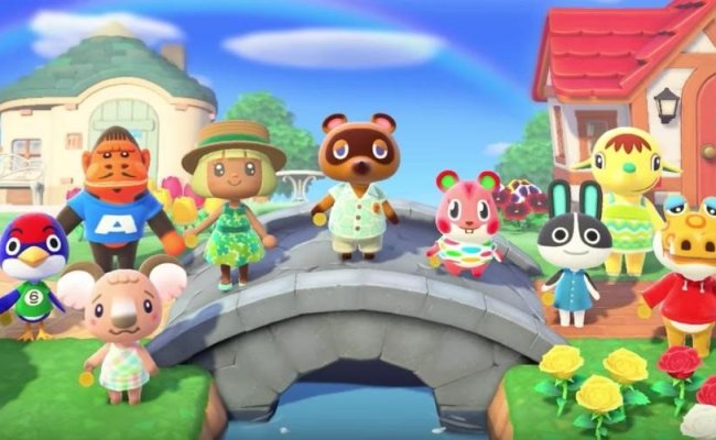 Players Dive In Early As Animal Crossing New Horizons
