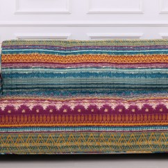 Multi Color Sofa Slipcovers Smart Sofas Uk Greenland Home Fashions Southwest Colored Size