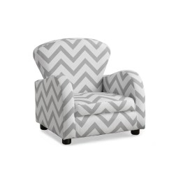 Gray Chevron Chair Free Barber Monarch Specialities Juvenile Grey Fabric