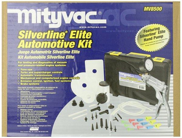 Mityvac Mtymv8500 Silverline Elite Automotive Hand Vacuum & Pressure Pump Kit