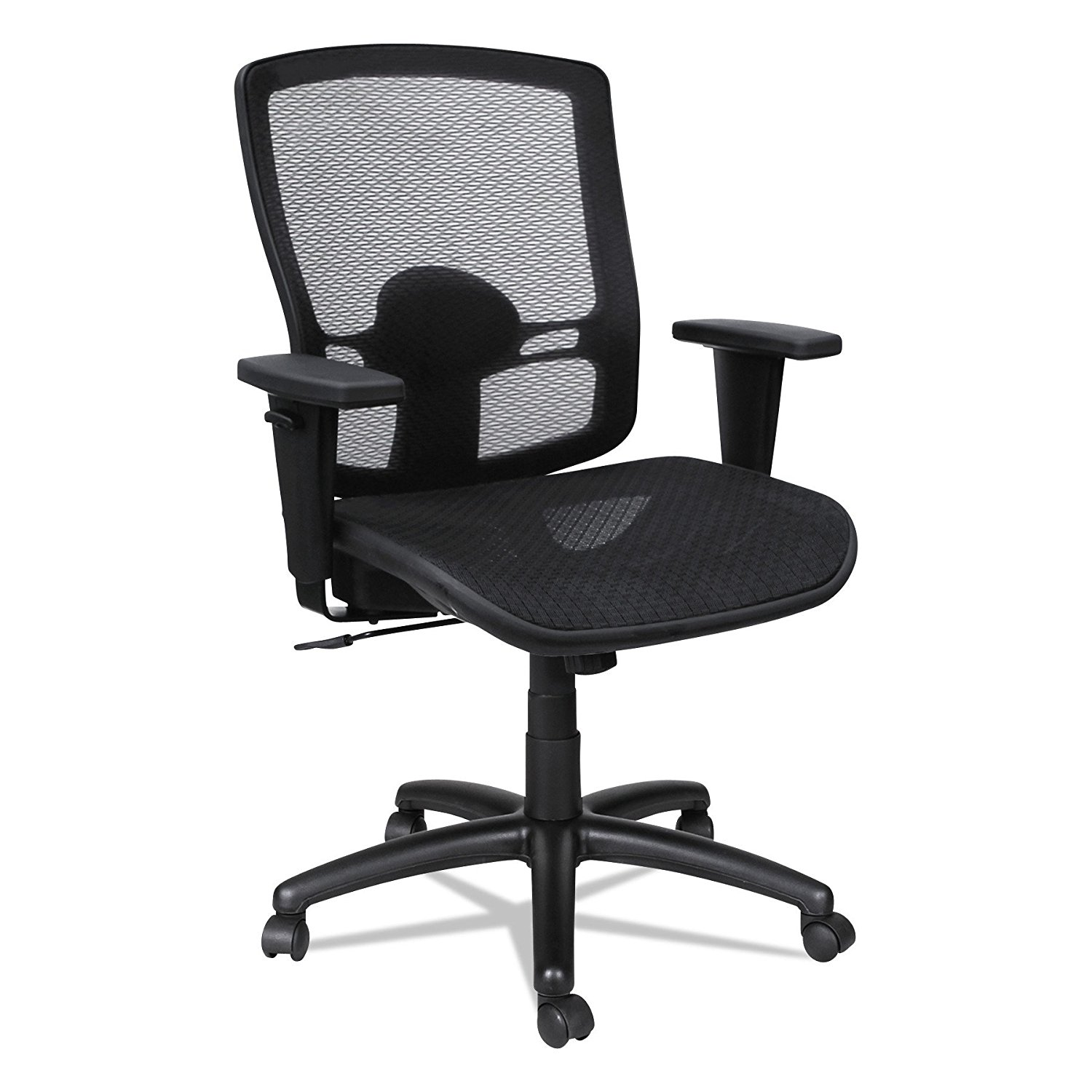 Alera Chair Alera Etros Series Mesh Mid Back Synchro Tilt Chair In