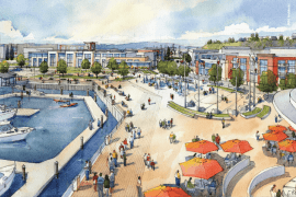 Waterfront Place Central in the Port of Everett