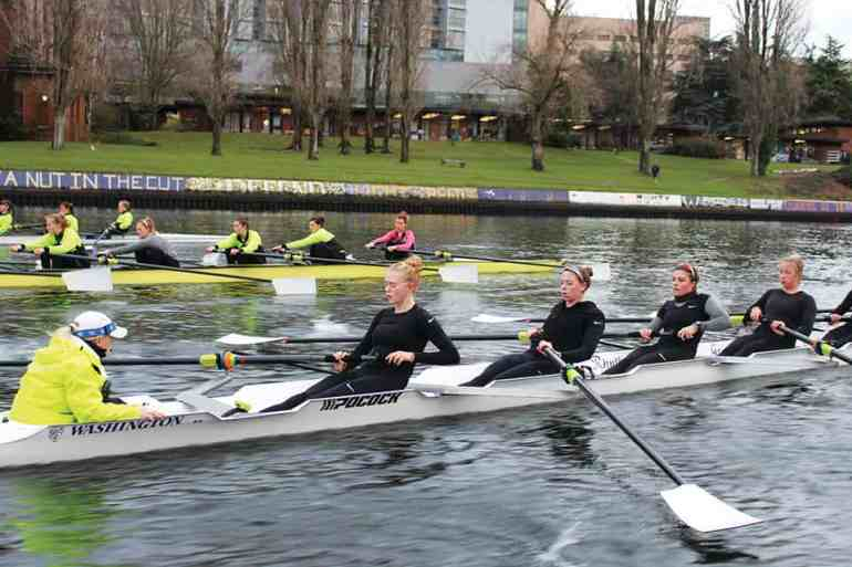 University of Washington Women's Rowing Team