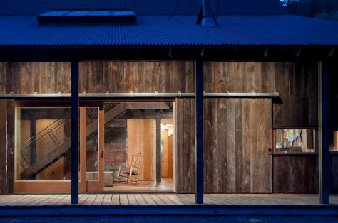 Barn converted into house. Architects: MW Works