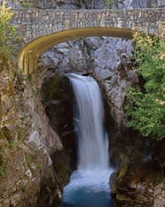 Christine Falls is a good stop on the way to Paradise. Photo by Deby Dixon.