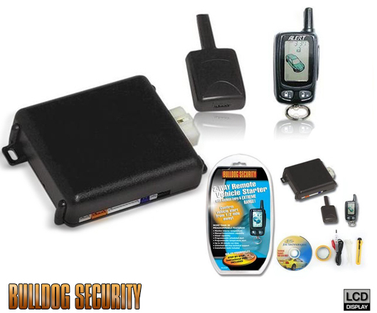 Remote Car Starter New Bulldog Security With Bonus Installation Kit