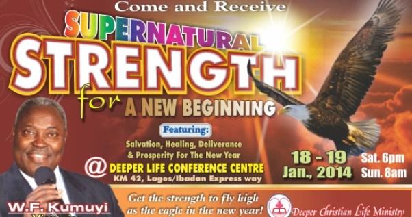 Supernatural Strength For a New Beginning