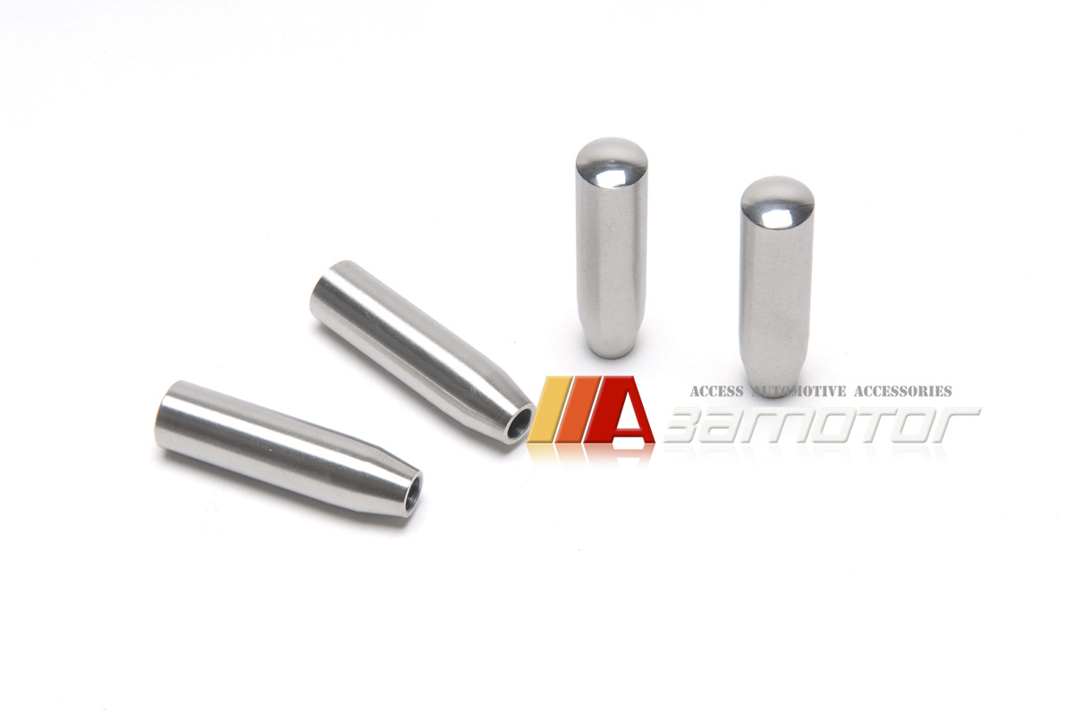 Stainless Metal Door Lock Pins For Mercedes W203 C55 Amg