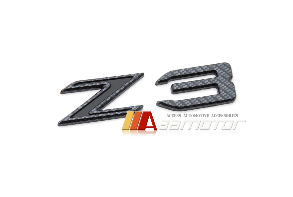 Bmw Trunk Lid Rear Emblem Badge Decal Letter Z3 Carbon