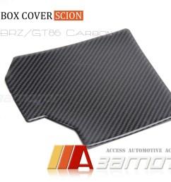 details about real carbon fiber fuse box cover for scion fr s toyota gt86 subaru brz egine bay [ 1200 x 806 Pixel ]