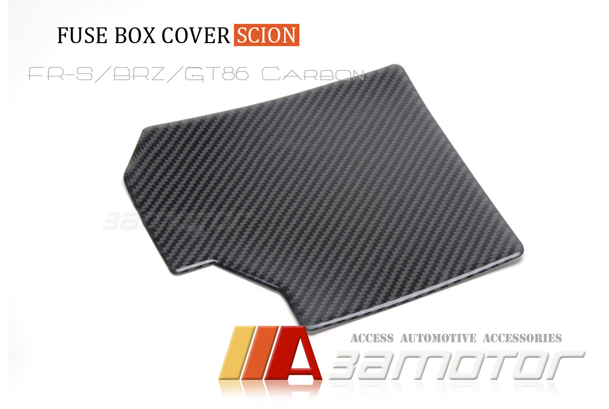 hight resolution of details about real carbon fiber fuse box cover for scion fr s toyota gt86 subaru brz egine bay