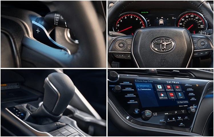 all new camry 2018 interior rekomendasi oli grand avanza toyota hybrid model features research styling