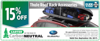 Seattle Subaru Ski & Snowboard Roof Rack Special | OEM ...