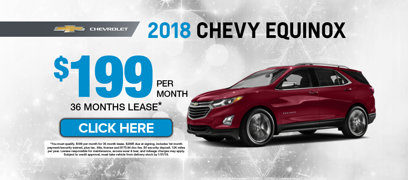 2018 chevrolet equinox purchase