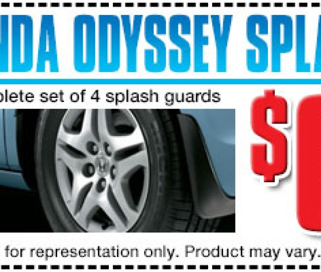 Carson City Honda Odyssey Splash Guards Accessory Special