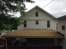 23 Repaired roof