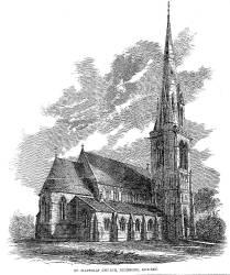 Medieval Church Drawing