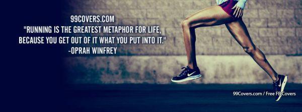 Facebook Cover Photos Oprah Winfrey Running Is The