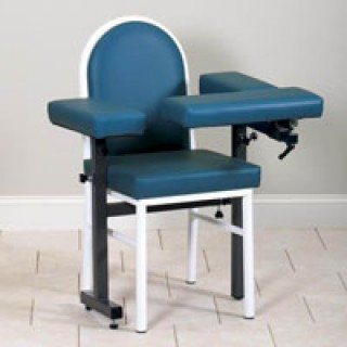 blood draw chair big and tall office chairs amazon clamshel