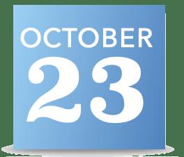 23 October 2021