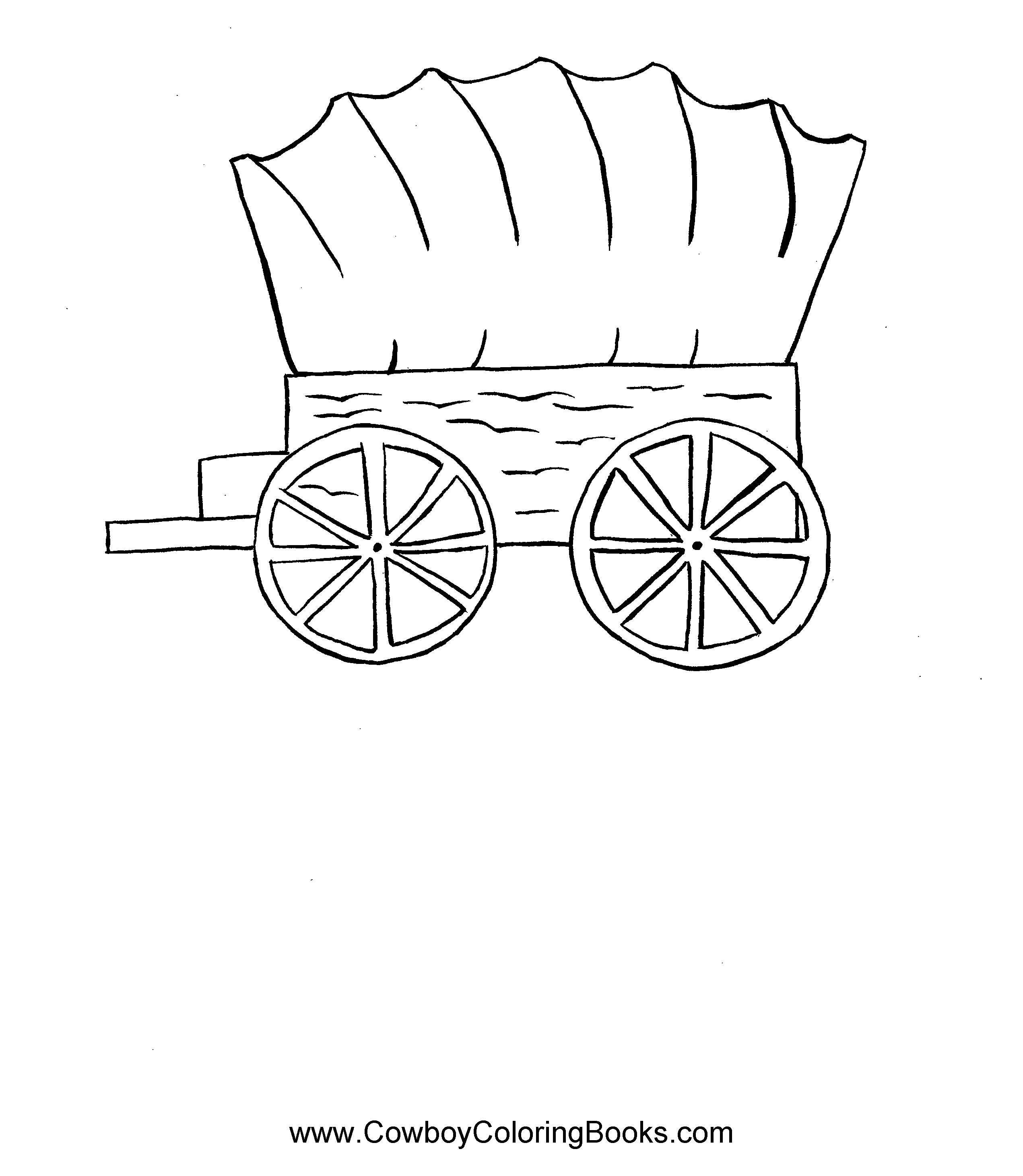 Pioneer Wagon Trains