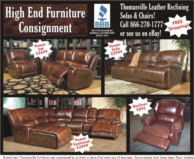 thomasville leather chair shabby chic dining table and chairs reclining sofas vancouver washington furniture for sale classified ads freeclassifieds com