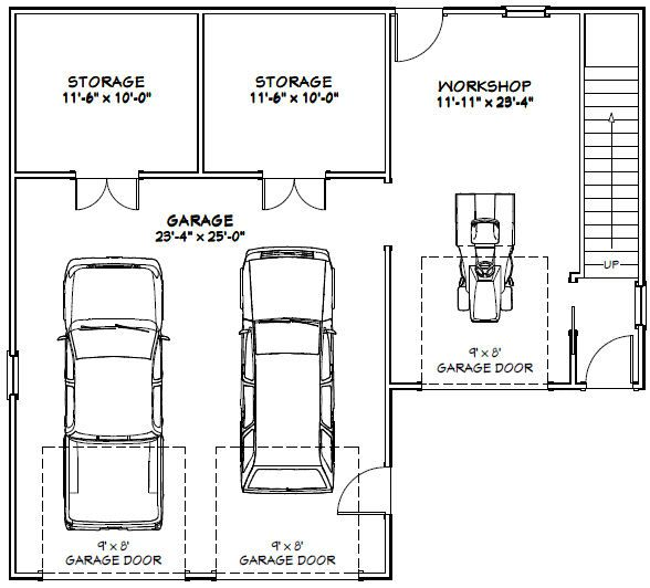 2 Car Garage Wiring Plans 24 X28 Image collections
