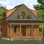 12x16 Tiny House Pdf Floor Plan 364 Sq Ft Savannah