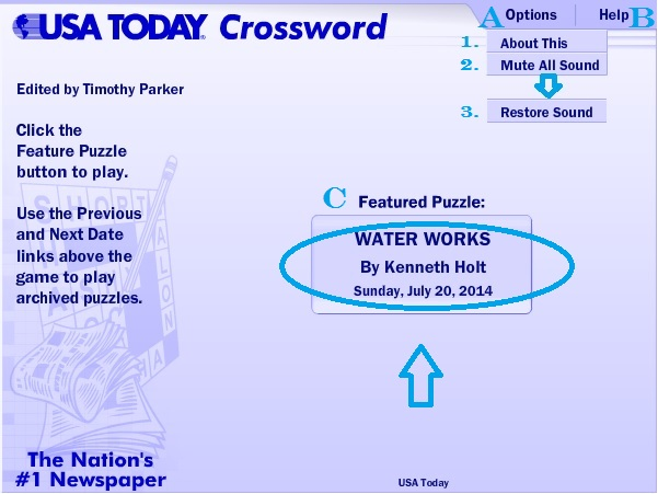 photograph relating to Printable Usa Today Crossword named United states Presently Crossword Aid Advisor