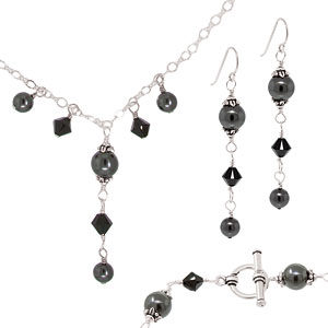 Black Getting Started Wire Wrapping Kit by FusionBeads.com