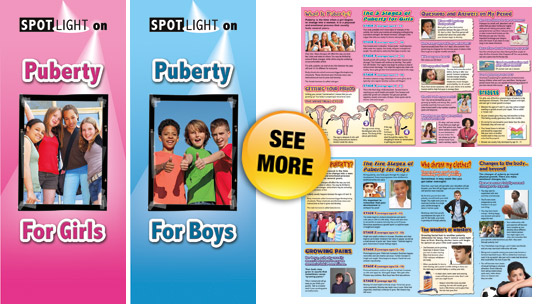 Spotlight On Puberty Pamphlets Human Relations Media K