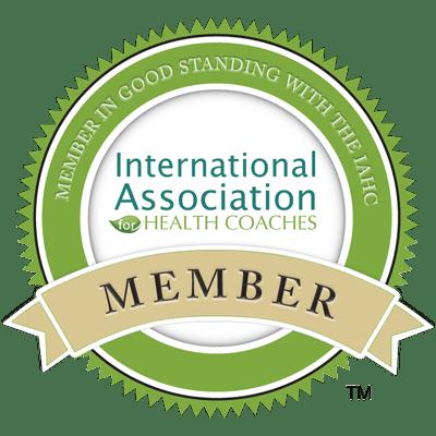 International Association for Health Coaches Member!