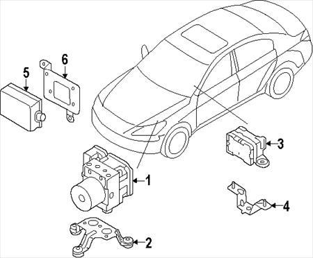 BODY CONTROL MODULE Nissan Altima 2005 05 #20769547