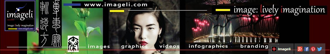 Imageli: Visual Web Marketing Logo. Medium Size Square Format. Image size: 1086x178 px